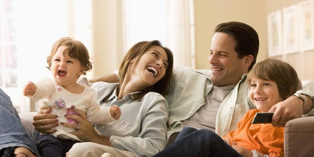 داشتن خانواده شاد