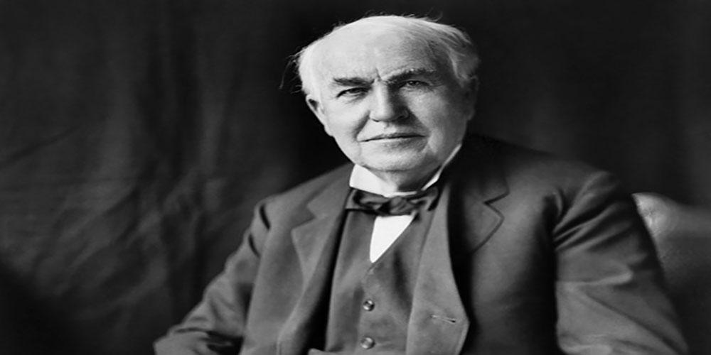 زندگینامه توماس ادیسون مخترع پر تلاش