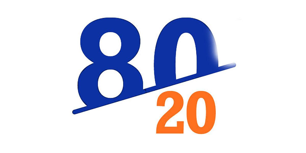 اصل بیست هشتاد