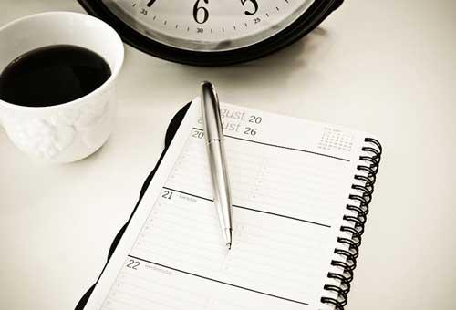 فهرست اهداف کاری
