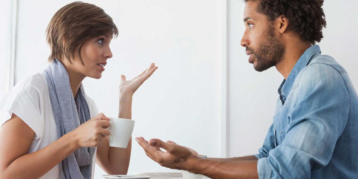 صحبت کردن با دیگران