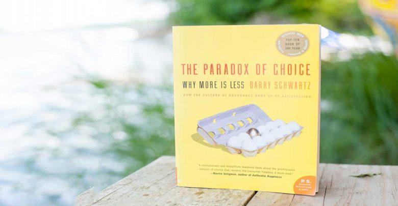 کتاب تناقض در انتخاب