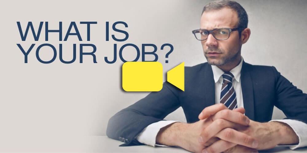 شغل شما چیست؟ (معنادار بودن شغل)