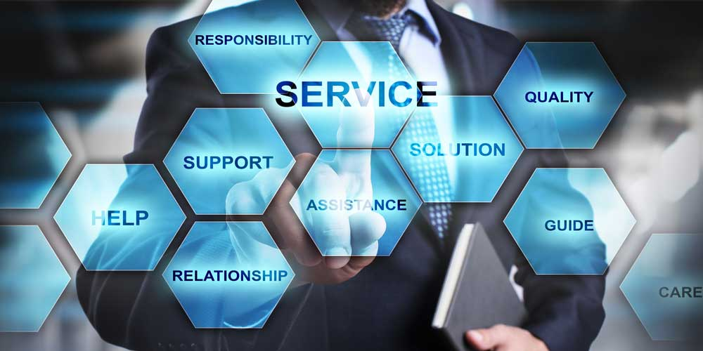 5 main features of service companies