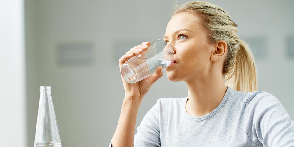Raise your efficiency by drinking water