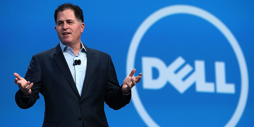 Explain the reasons for Dell's success and failure