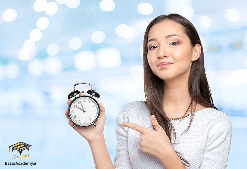 ضعف در مدیریت زمان