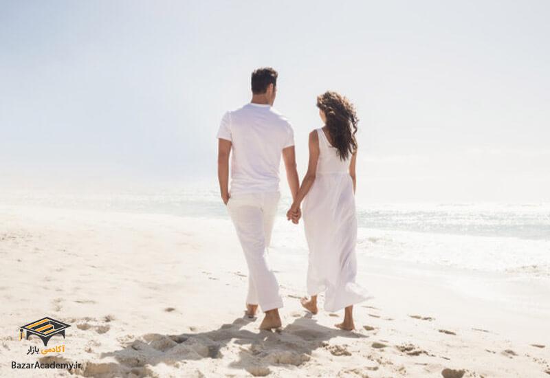 ارتباطات مثبت میان زوجین