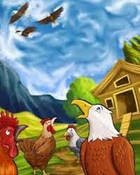 Eagle and Chicken Story