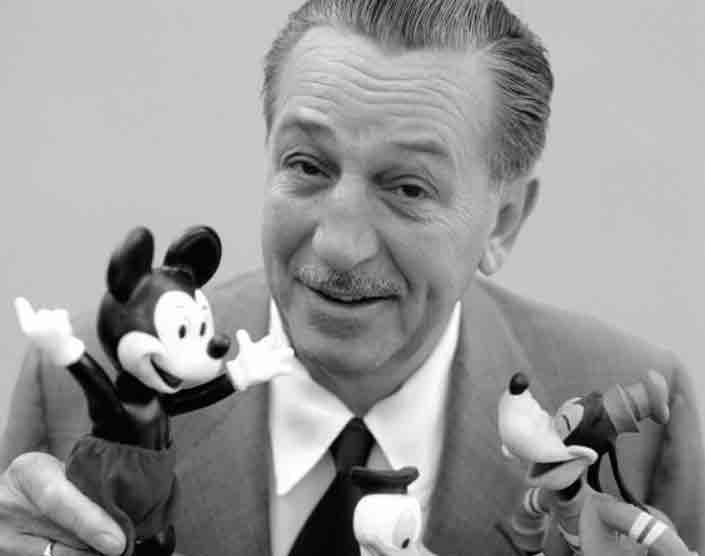 زندگینامه Walt Disney