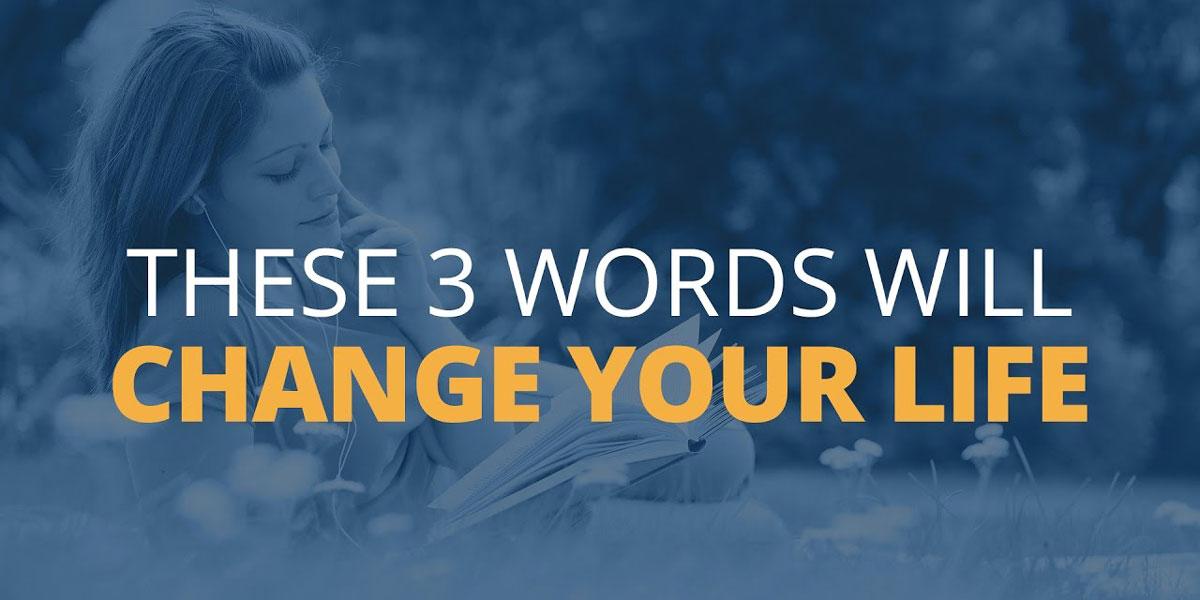 با سه کلمه، مشکل خود را به فرصت تبدیل کنید