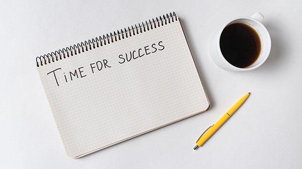 زمان رسیدن به موفقیت